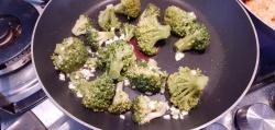 Broccoli met knoflook